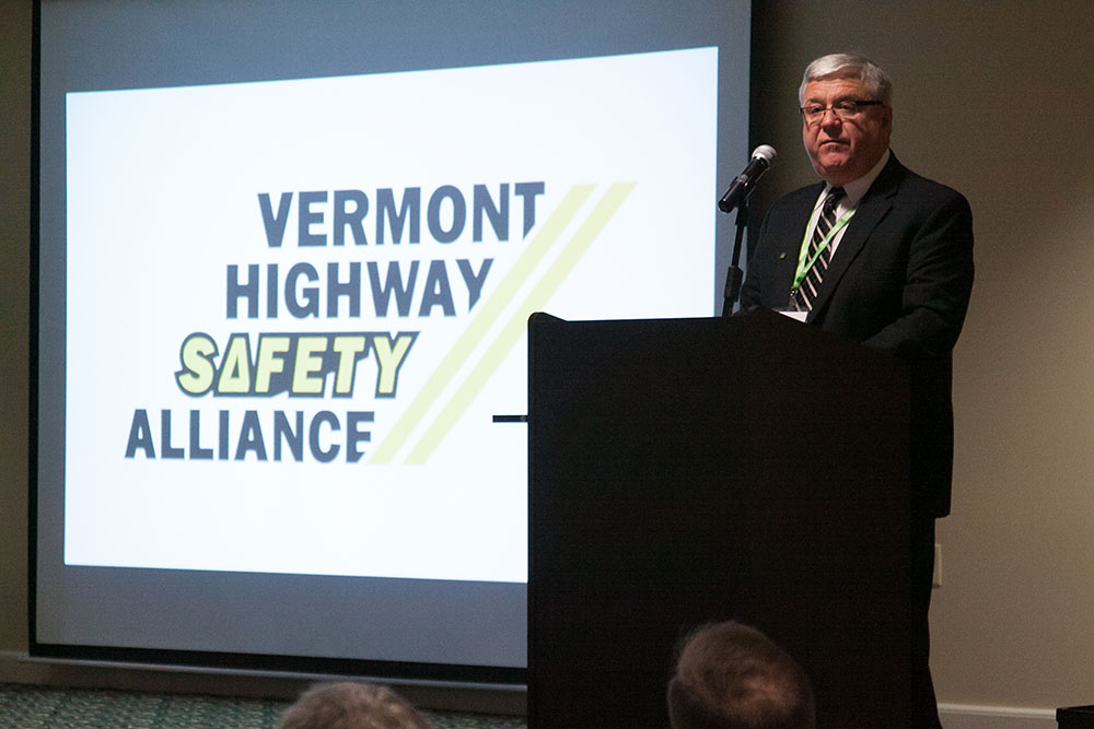 Glen Button, Chair of the Vermont Highway Safety Alliance.