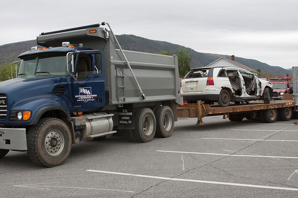 Towing donated